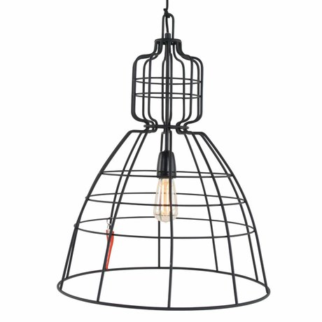 Anne Lighting Lampe suspendue Anne MarkllI métal noir ø48x68cm