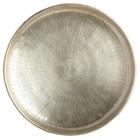 Housedoctor Plateau Carve Ø38cmx1,5cm en métal doré