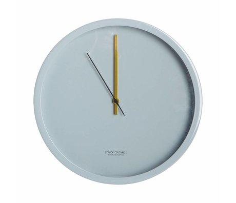 Housedoctor Klok Clock Couture grijs aluminium Ø30cm
