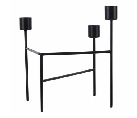 Housedoctor Candlestick Trois 15x13.5x18.5cm mat