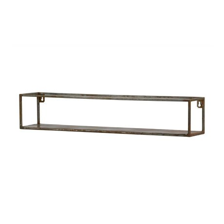 BePureHome Wallboard Weldone xl rust orange metal 15x80x15cm