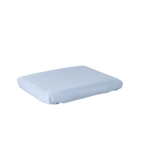 Ferm Living Dressing cushion cover Hush light blue cotton
