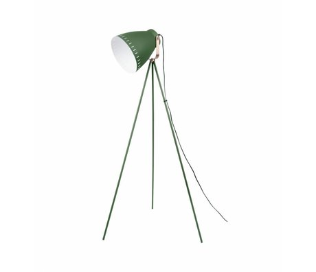 Leitmotiv Floorlamp se mêlent métal vert ø26,5 x145cm