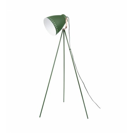 Leitmotiv Floor lamp Mingle green metal ø26,5 x145cm