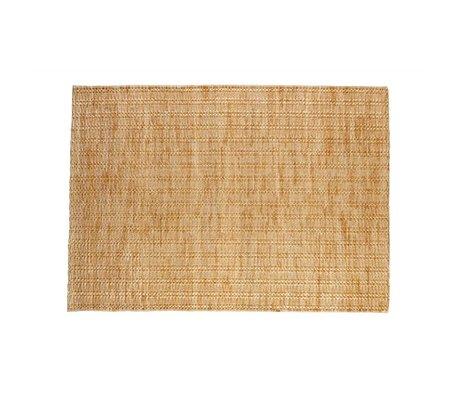 BePureHome Flooring Scenes Natural Brown Jute 170x240cm