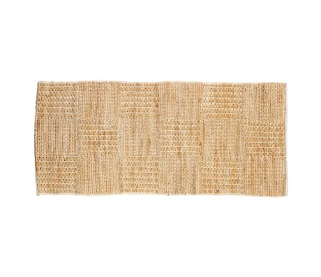 BePureHome Flooring Scenes Natural Brown Jute 70x140cm