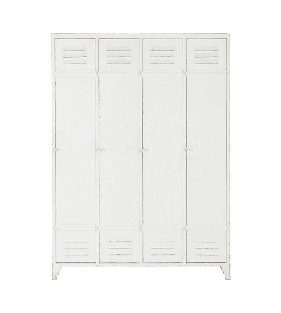 Cabinet Kast Locker Discover Wit Metaal 1535x1105x43cm
