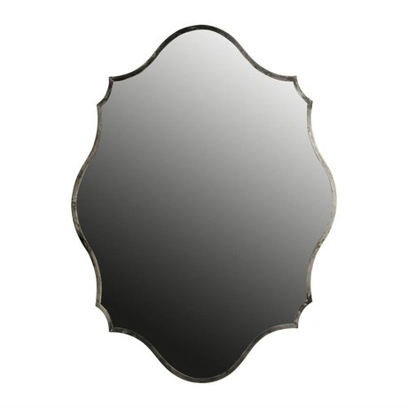 BePureHome Mirror Gorgeous antique silver metal 70x94x5cm