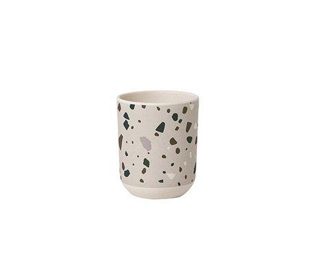 Ferm Living Cup Terrazzo Gray Bamboo Ø7,5x9cm
