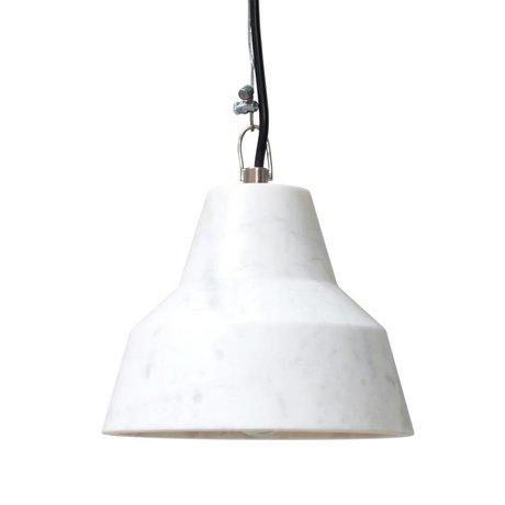 HK-living Hanglamp marmer 18x18x14cm