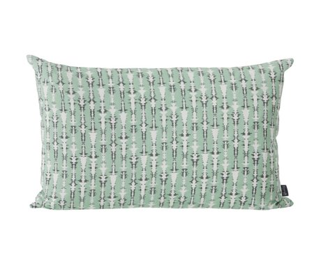 Ferm Living Cushion Vivid mint green 60x40cm