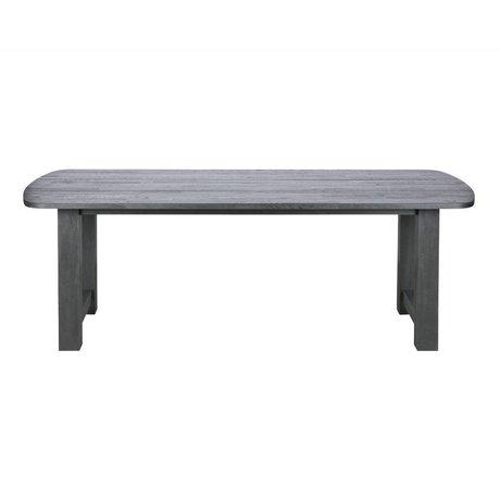 BePureHome Dining table Identity blacknight black oak wood 220x90x76cm