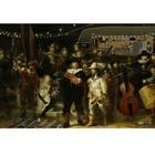 Arty Shock Rembrandt painting - The Night Guard M multicolor plexiglas 80x120cm