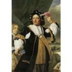 Arty Shock Aert van Nes painting - Batholomeus van der Helst M multicolor plexiglas 80x120cm