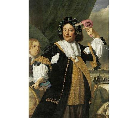 Arty Shock Gemälde Aert van Nes - Batholomeus van der helst XL mehrfarbige Plexiglas 150x225cm