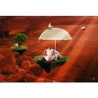 Arty Shock Peinture L'amour est 120x80cm plexiglass multicolore M rouge