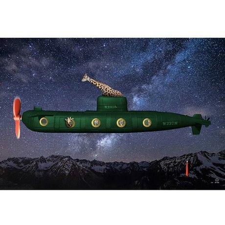 Arty Shock Sternennacht Malerei M Mehrfarben Plexiglas 120x80cm