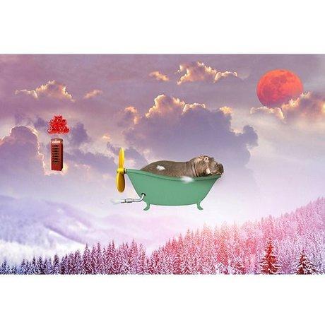 Arty Shock Painting Sweet dreams S multicolor plexiglas 90x60cm
