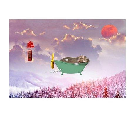 Arty Shock Malerei Süße Träume M Mehrfarben Plexiglas 120x80cm