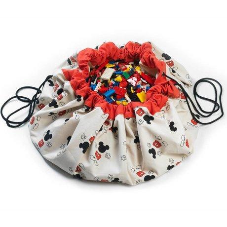 Play & Go Storage bag / toy Mickey Cool multicolor cotton Ø140cm