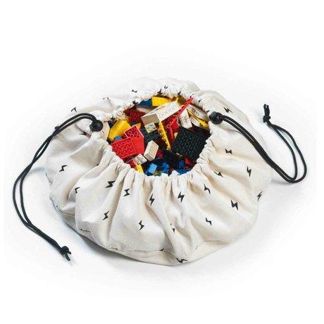 Play & Go Sac de rangement / Mini Thunderbolt playmat coton multicolor Ø40cm