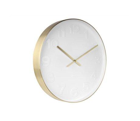 Karlsson M. Wall Clock acier blanc blanc Ø51cm