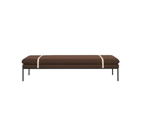Ferm Living Daybed Turn roest wol nylon 190x80x42,5cm