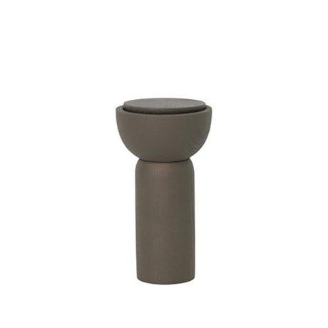Ferm Living Pfeffer / Salzmühle dunkelgrün Ø6.5x12cm