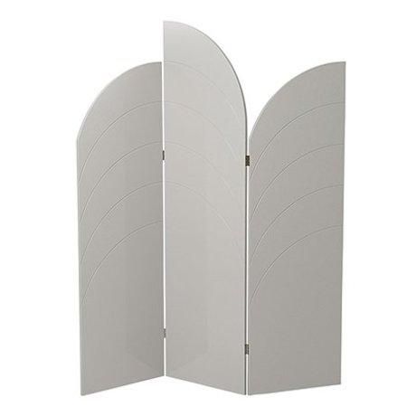 Ferm Living Raumteiler Entfalten Glanz weiß MDF 150x180x1,8cm