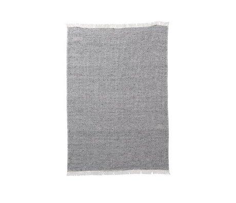Ferm Living Küchentuch Mischung grau Baumwolle Leinwand 70x50cm
