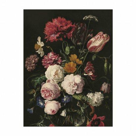 KEK Amsterdam Houten paneel  Golden Age Flowers 2 S 45x60cm