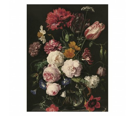 KEK Amsterdam Houten paneel Golden Age Flowers 2 M 60x80cm