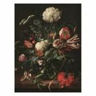 KEK Amsterdam Houten paneel Golden Age Flowers 1 M 60x80cm