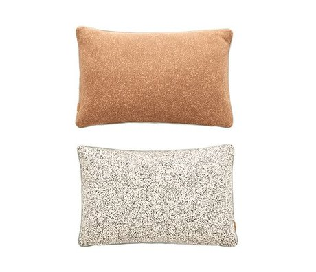 OYOY Ornamental cushion Taro Cushion multiocolor cotton 40x60cm