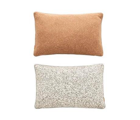 OYOY Sierkussen Taro Cushion multiocolor katoen 40x60cm
