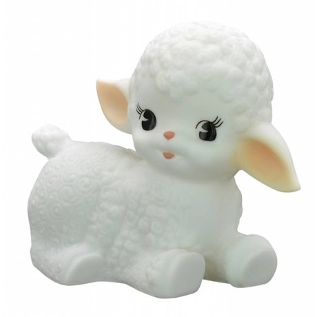LEF collections Lamp Wooly sheep white 15x12.5cm