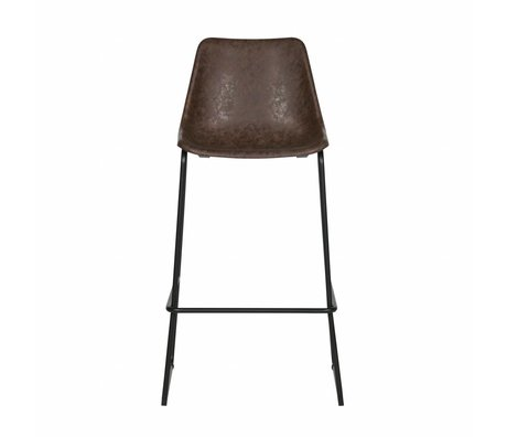 LEF collections Bliss bars Chair black plastic 53x52x75cm - Copy - Copy - Copy - Copy