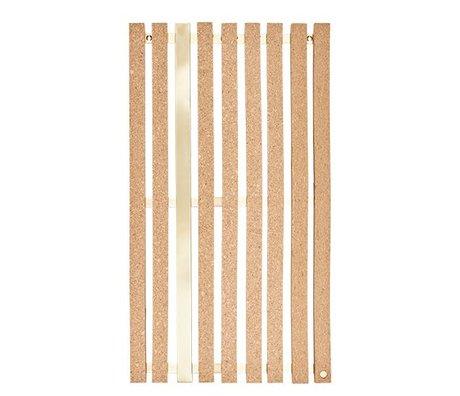 OYOY Notepad Lamella cork 3x39x70cm
