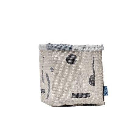 OYOY Kraftzak hokus Pocus 20x20x28cm polyester gris