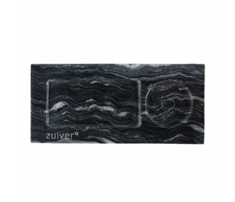 Zuiver Dienblad marble grey, marmer grijs 22x10x1,5cm