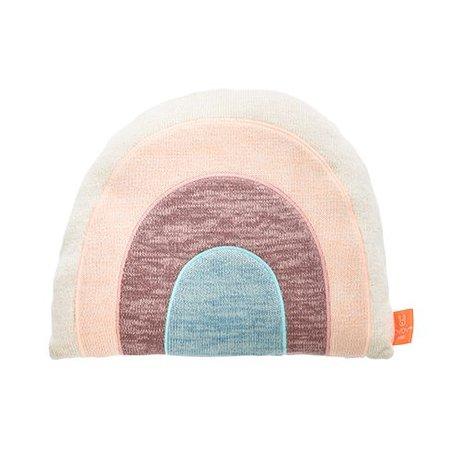 OYOY Kissen Regenbogen Multicolor Baumwolle 28,50x11x40 cm