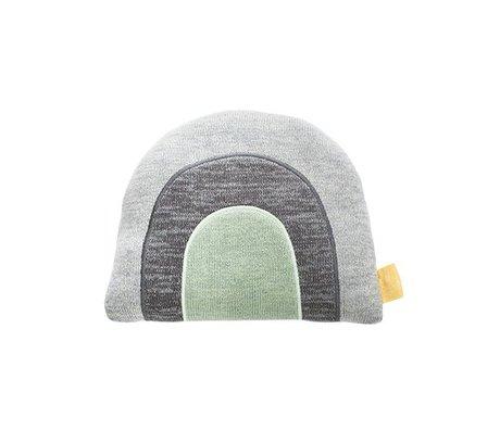 OYOY Coussin en coton multicolore arc-en-23x11x30 cm