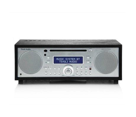 Tivoli Audio bois d'argent Système Radio Musique BT 35,88x24,13x13,34cm