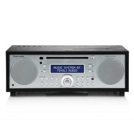 Tivoli Audio Radio Music System BT Silber Holz 35,88x24,13x13,34cm