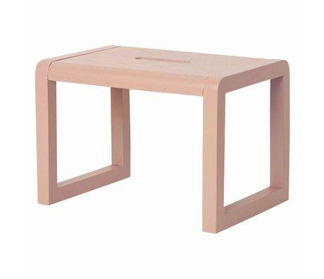 Ferm Living Chair Little Architect pink wood 33x23x23cm