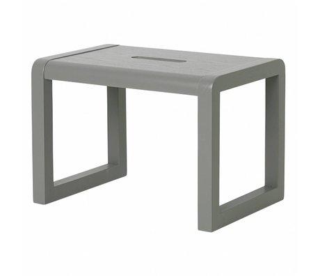 Ferm Living Stoel Little Architect grijs hout 33x23x23cm