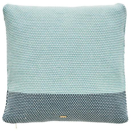 OYOY Jewelery cushion Koke Cushion blue green cotton 50x50cm