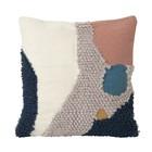 Ferm Living Ornamental Cushion Walk Landscape Multicolour Wool Canvas 50x50cm