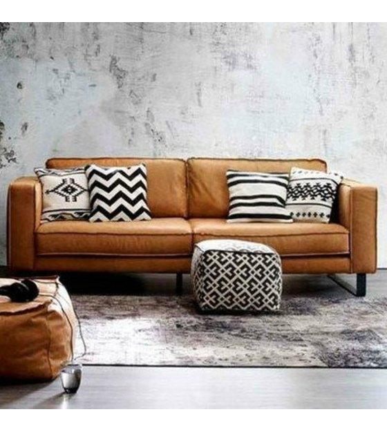 Bruin Leren Design Bank.Best Bank Cognac Tantramassage