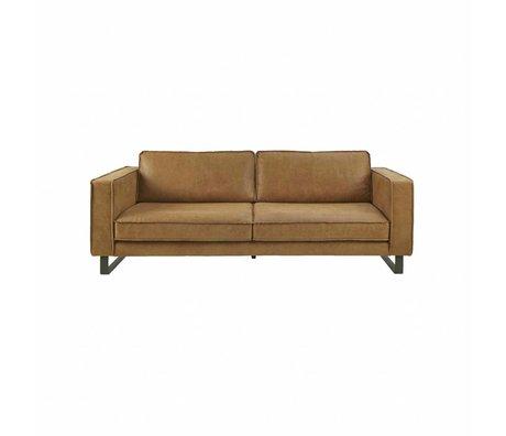 I-Sofa Sofa 2,5-Sitzer Harley cognacbraun Leder 184x96x82cm